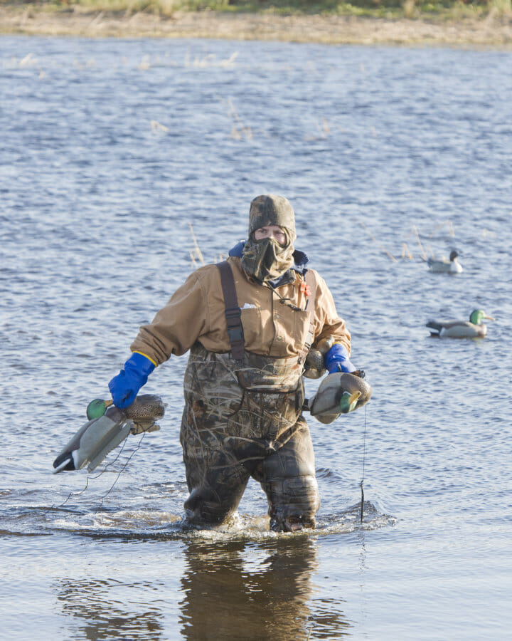 Waders for hunting