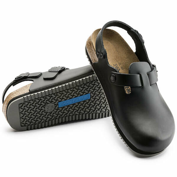 Birkenstock shoes for chefs and for use in the kitchen
