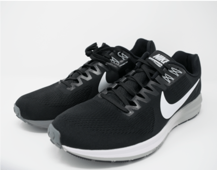 Feature picture of the Nike Zoom Structure 21 Running shoe for plantar fasciitis