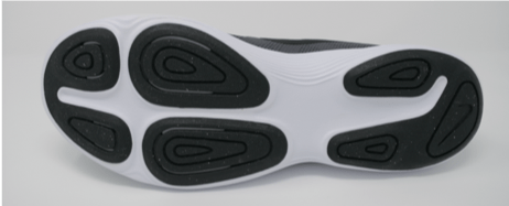 Picture of the Tread on the Nike Air Zoom Structure 21