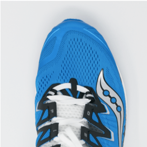 Picture of the Toe Box of the Saucony ISO Triumph 4