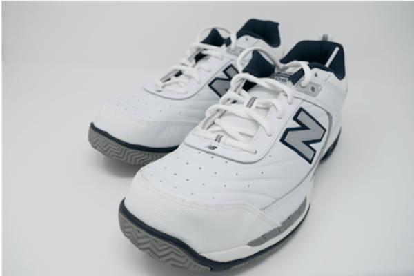 Close up of New Balance MC806 Plantar Fasciitis Shoes