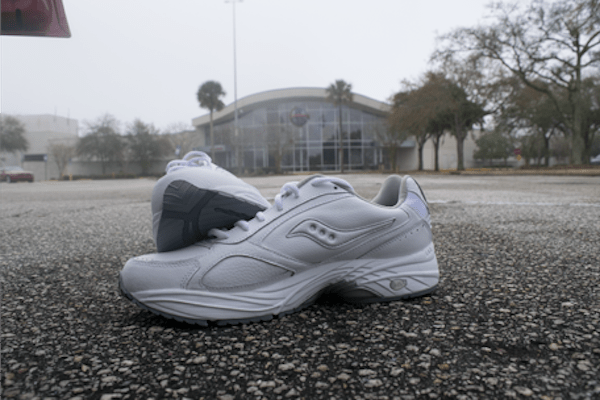 Saucony Omni Grid on Test Course