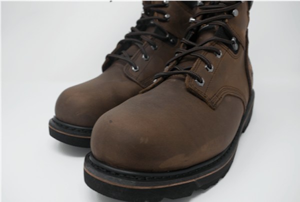 Timberland Pro Pit Boss Steel Toe Work Boots for Concrete and Plantar Fasciitis