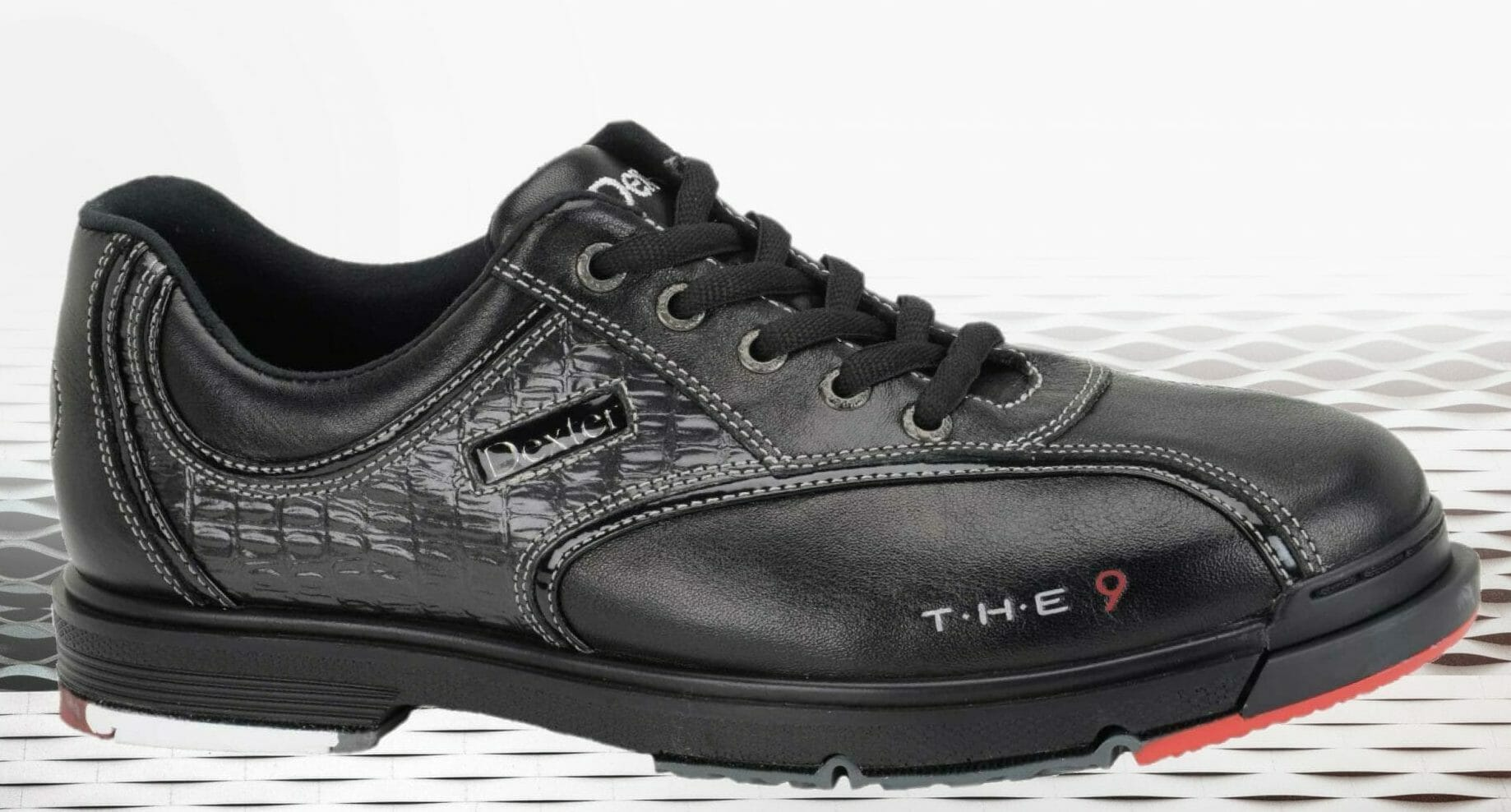 Profile view of the Dexter T.H.E. 9 Bowling Shoe for Women and Men