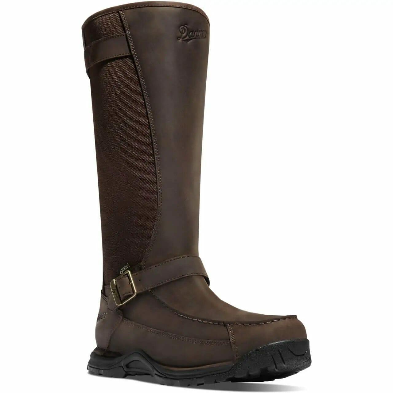 Danner Sharptail Snake Boot for Men full leather front and 900 Denier Nylon snake guard