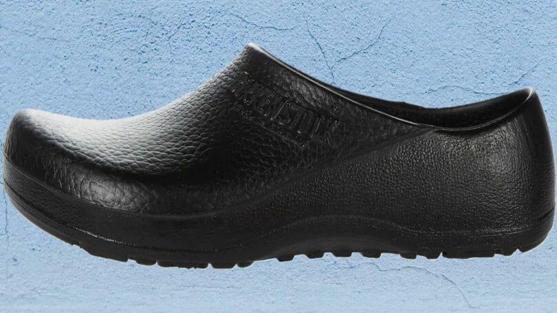 Profile image of black polyurethane birkenstock birkis