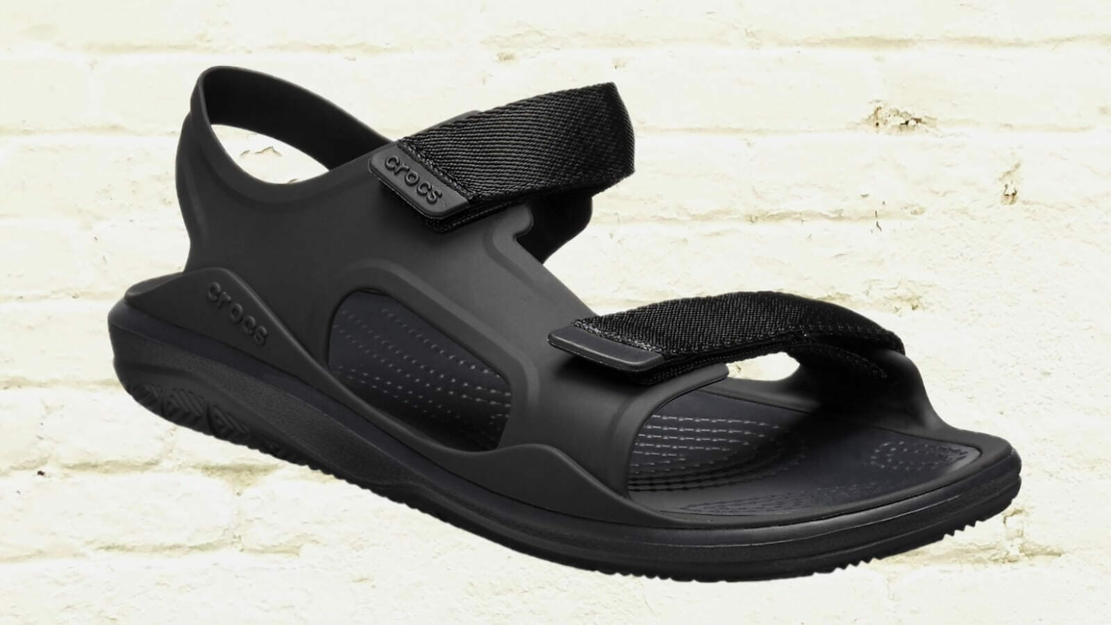 Crocs swiftwater expedition sandal with hard plastic foot protection