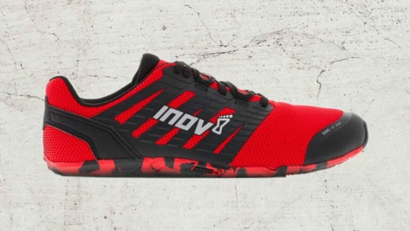 Inov-8 Bare-XF v3 men's minimalist CrossFit shoe.