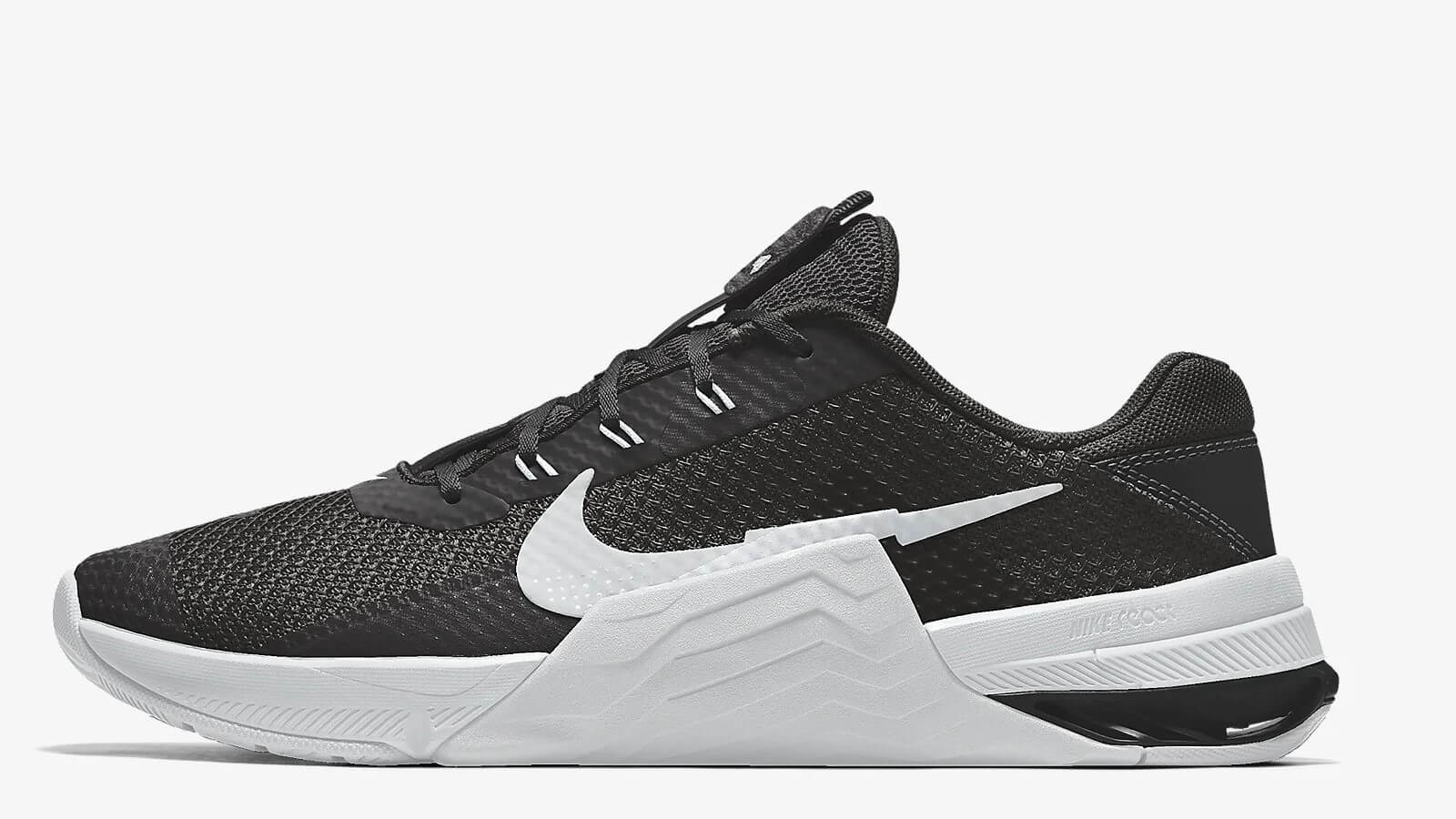 Nike Metcon 7 preview crossfit shoe in black and white