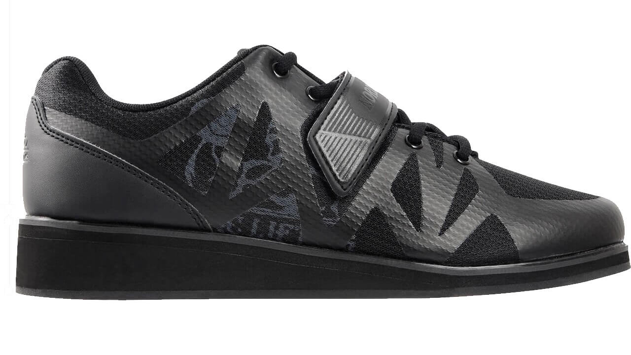 Nordic Lifting megin black powerlifting shoe.