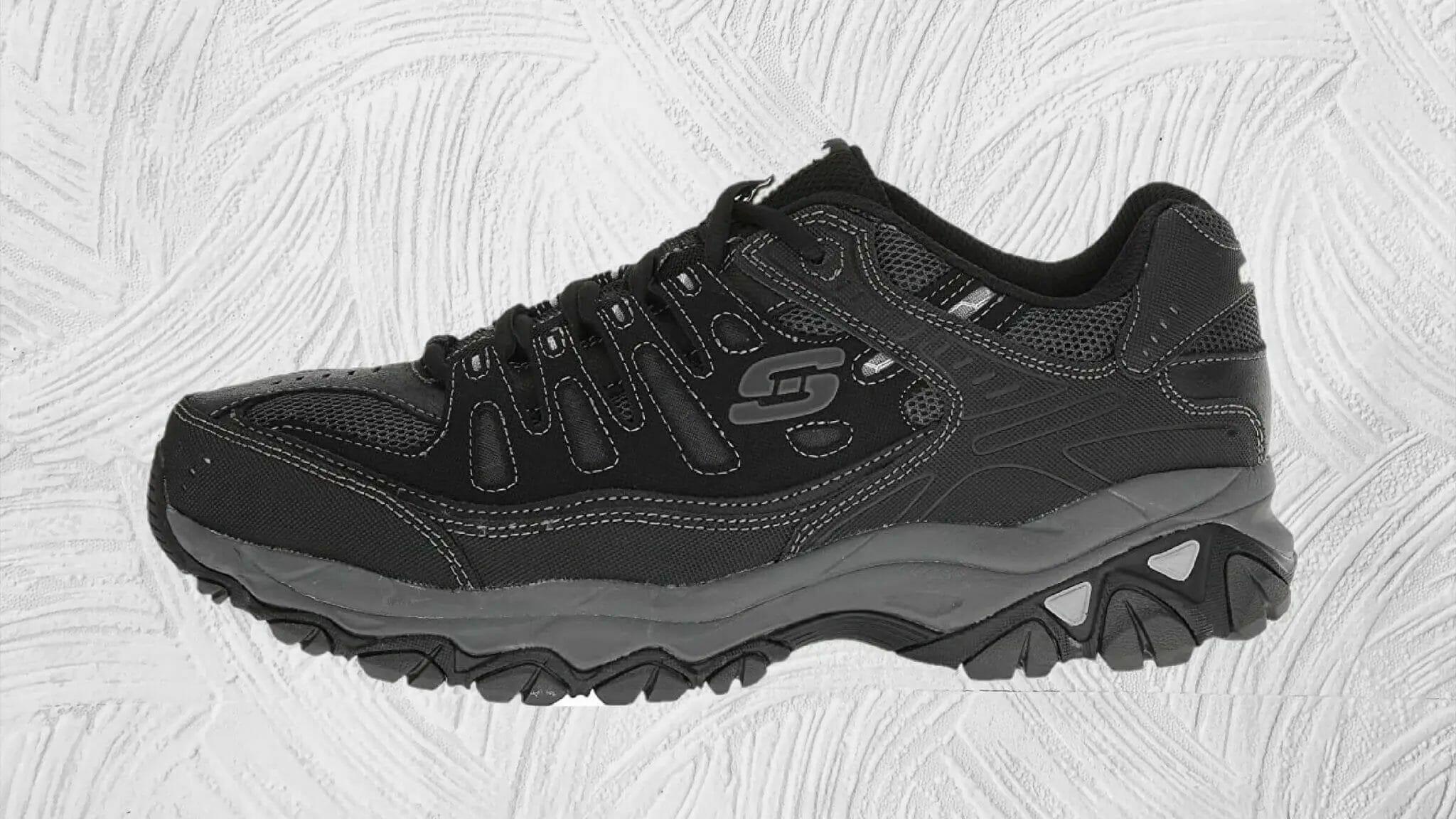 Skechers afterburn Memory fit shoe with memory foam insole