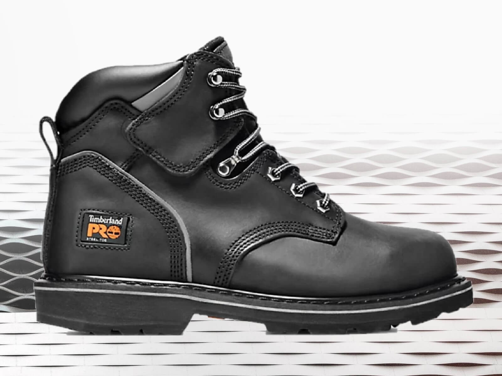 """Timberland pit boss 6"""" work boot for factory and warehouse workers"""