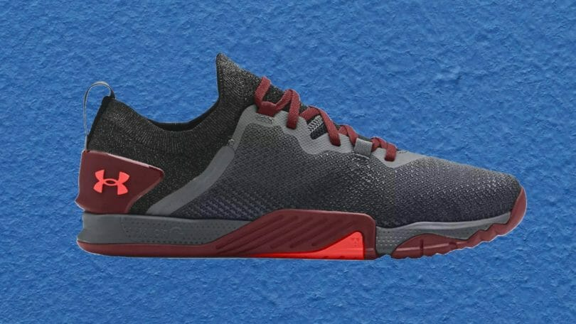 Under Armour tribase reign 3 workout gym shoe for HIIT and training.