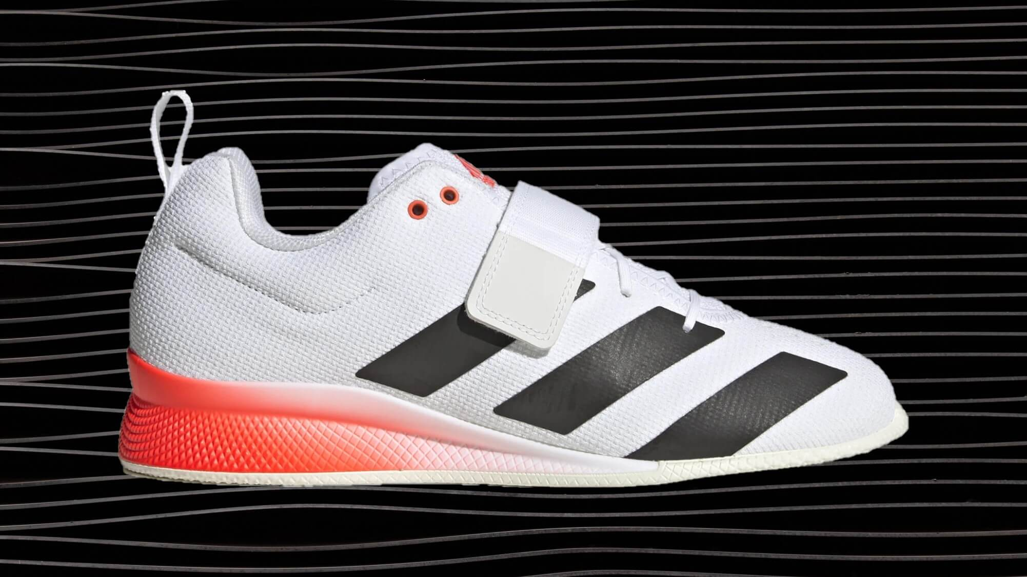 adidas Adipower Weightlifting II Shoe with limited Tokyo Olympics colors.